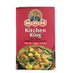 野菜カレー キッチンキング マサラ 100g カレースパイス MDH (ネコポス対応/箱を少し折って出荷) インド産 賞味期限2023.1