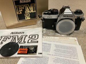 Nikon New FM2 シルバー元箱付 ボディ