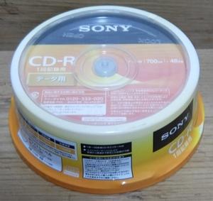 ソニー データ用 CD-R 20枚パック 20CDQ80GPWP 送料無料
