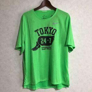 ナイキ ランニングウェア XLサイズ Tシャツ ライズ 365 ドライフィット