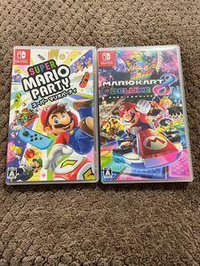 マリオカート8デラックス スーパーマリオパーティ Nintendo Switch ニンテンドースイッチ ソフト