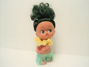 現状品◆ソフビ人形<南の島の少女>