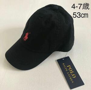 【新品タグ付き】 ラルフローレン スモールポニー キャップ ブラック53-56