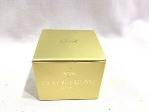 ■4609■未使用・送料込■イオン化粧品 イオンカラークリーム ローズ 12g 化粧品