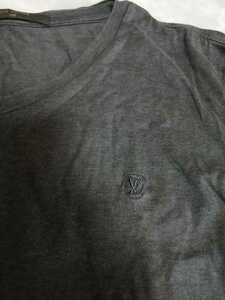 幻 ルイヴィトン モノグラムサークルエンブロイダリー半袖Tシャツ サイズM ワンポイントモノグラムシャツ VIP限定
