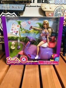 未開封 1円スタート バービー バービーとスクーターでおでかけ! バイク Barbie バイク