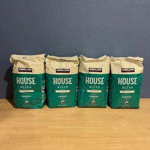 スターバックス ロースト コーヒー豆 4袋セット 1.13kg×4 ハウスブレンド スタバ