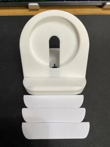 携帯スタンド ゴム製 白色 新古品(画像参考)