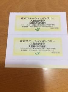 ◆ JR東日本株主優待割引券 ★ 東京ステーションギャラリー 入館割引券 ★ 2枚セット