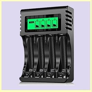 ☆★この時期限定★☆新品☆未使用★ 8本同時充電可能 Powerowl急速電池充電器単三単四ニッケル水素/ニカド充電池に対応 Y-VW