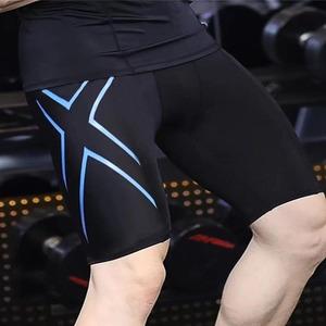 メンズ スポーツタイツ スパッツ コンプレッションウエア トレーニング 4色 サイズSから3XL