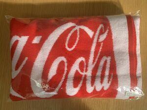 coca cola コカ・コーラ 非売品 ジャガード バスタオル