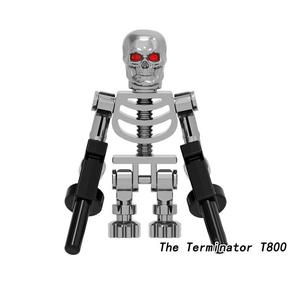 ☆ ターミネーター T800 ☆ エンドスケルトン 映画  レゴ 互換 ミニフィグ LEGO 風 【即日発送】