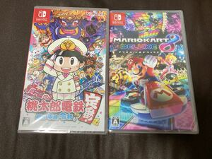 Nintendo Switch 桃太郎電鉄 昭和平成令和も定番& マリオカート8デラックス 2本セット