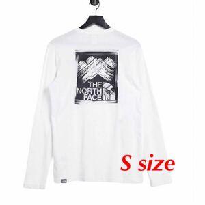 THE NORTH FACE ノースフェイス Tシャツ長袖 ロンT 海外モデルS 新品 正規品 ロングスリーブ
