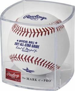 (新品) 2021 ALL-STAR GAME 公式球 Rawlings ホームランダービー大谷翔平 MLB ASG 野球 ボール ローリングス