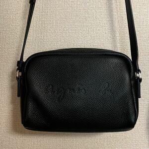 アニエスベー agnes b 肩掛けバッグ ショルダーバッグ 斜めがけ  シンプル カバン 鞄 ファッション レディース 通勤