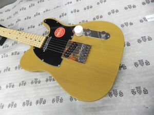 Squier by Fender Affinity Series Telecaster テレキャスター エレキギター Maple Fingerboard Butterscotch Blonde