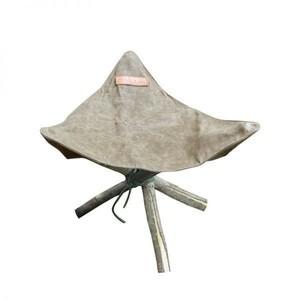 ブッシュクラフト無骨なギア チェア 椅子用帆布 一人用 ソロキャンプ e