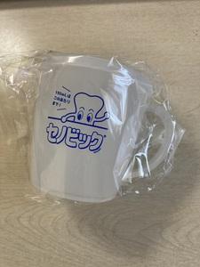 送料無料 おまけ セノビック オリジナルフタ付きマグカップ 300ml 耐熱・耐冷(-20℃~140℃) 子供の成長応援