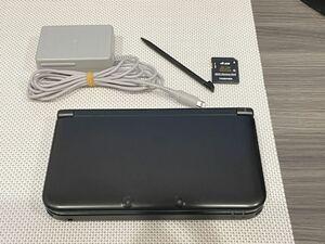 ニンテンドー3DS LL ブラック 本体動作品 送料無料 Nintendo 任天堂 付属品付き