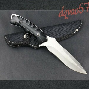 フルメタル シースナイフ フルタングナイフ Columbia Saber Sanjia Model K603s バトニング キャンプ サバイバル 重厚感 ナイフ