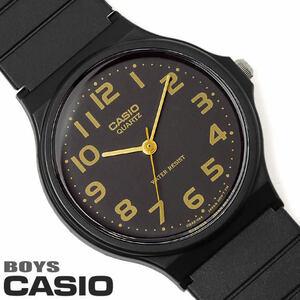 ■即決■新品・未使用 カシオ 腕時計 チプカシ チープカシオ アナログ CASIO メンズ レディース ユニセックス ウレタン ブラック ゴールド