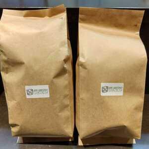 {ヤフオク特価}ご購入後に焙煎、リバティブレンドコーヒー豆500g2(計1kg)豆でも粉でも可。