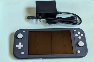 Nintendo Switch Lite Gray ニンテンドー スイッチライト 本体 グレー スイッチ ライト