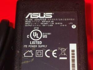 (MU534)格安送料込み! ASUS  ACアダプタ  ADP-65JH AB   19V 3.42A 外径5.5ミリ 内径2.5ミリ 7日間保障