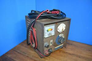 昭和レトロ 6V 12V 充電器・カーバッテリー バイク バッテリーチャージャー