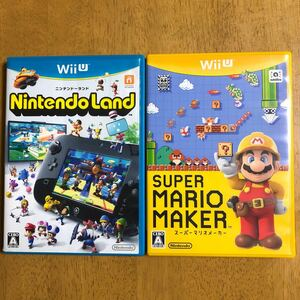 WiiU スーパーマリオメーカー、ニンテンドーランドセット