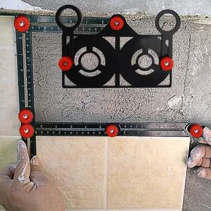 【折り畳み式】定規 テンプレート 便利