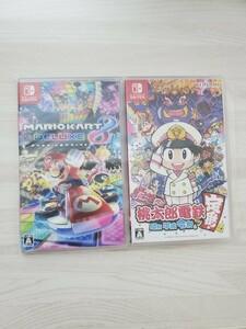 桃太郎電鉄 ~昭和 平成 令和も定番!~ マリオカート8 デラックス セット ニンテンドースイッチ Nintendo Switch