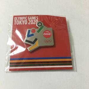 東京オリンピック ピンバッジ コカコーラ バレーボール
