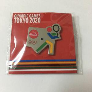 東京オリンピック ピンバッジ コカコーラ テニス