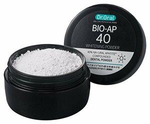 ホワイト 26g ドクターオーラル (Dr.Oral) Dr.オーラル ホワイトニングパウダー 天然アパタイト40% 配合 単品