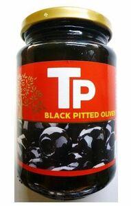 世界美食探究 スペイン産 ブラックオリーブ 340g 【オリーブの実 黒】