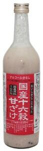 種商 国産十六穀甘ざけ  720ml    【甘酒 あまざけ 米こうじ ノンアルコール】