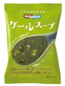 NATURE FUTURe ケールスープ  10.0g×10食    【コスモス食品 フリーズドライ 国産 国内産 化学調味料無添加 野菜スープ】