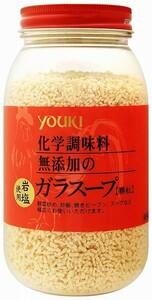 ユウキ食品 化学調味料無添加のガラスープ 400g     【岩塩使用 YOUKI 顆粒 マコーミック 中華調味料 エスニック】