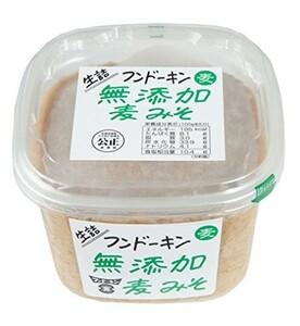 フンドーキン 無添加麦みそ 850g  【フンドーキン醤油 こだわり 大分 生詰 味噌 麦味噌】