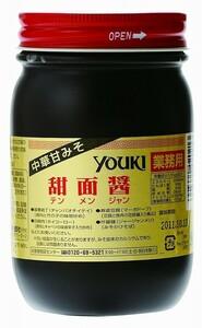 ユウキ食品 甜面醤(中華甘みそ) 500g  【YOUKI マコーミック 中華調味料 テンメンジャン 国内製造】