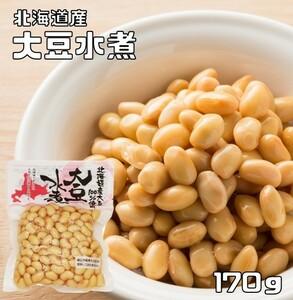 豆力 北海道産 大豆水煮 170g