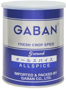 GABAN オールスパイス(缶) 180g×12個   【ミックススパイス ハウス食品 香辛料 パウダー 業務用 百味胡椒】