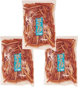 横山食品 芋けんぴ うす塩味 270g×3袋 【国産 国内産 芋チップス 高知】