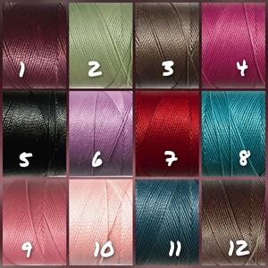 選べる35色 LINHASITA ワックスコード 50m