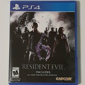 Resident Evil 6 (輸入版:北米) - PS4 バイオハザード BIOHAZARD