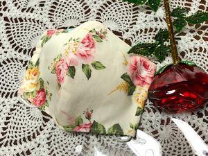 立体インナー ハンドメイド 薔薇柄 ローズ 大人サイズ1枚 送料無料