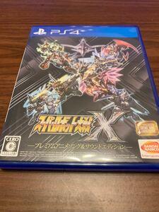 スーパーロボット大戦X プレミアムアニメソング&サウンドエディション PS4